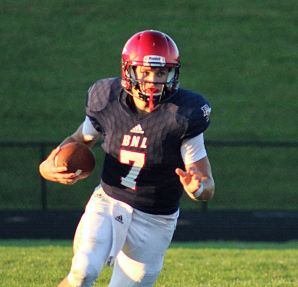 6e9cf83f BNL quarterback McCall Ray has accepted an offer as a preferred walk-on at  Indiana University.